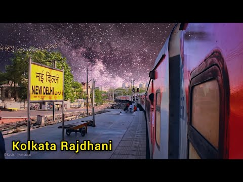 High speed journey in Howrah Rajdhani Express |AC 2-Tier| Indian Railways