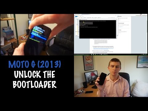 How to Unlock the Bootloader on the Moto G 1st Gen (2013)
