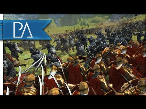 Battle Of The Five Armies: Lonely Mountain Surrounded - Third Age Total War Mod Gameplay