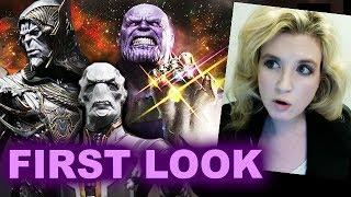Avengers Infinity War BLACK ORDER First Look