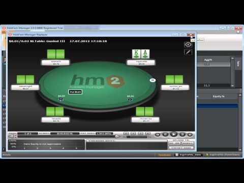Poker-Video für Einsteiger: Erstellung eines individuellen HUDs im HM2 deutsch