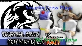 Roblox Martial Arts Battle Arena Kai W/ Penguin and Bleach DEFEATING A MASTER BELT!