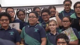 School kids receive gift of glasses