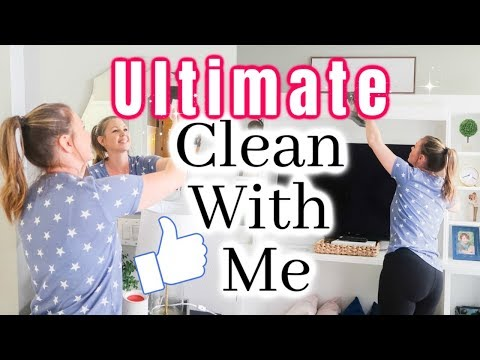 ⭐ULTIMATE CLEAN WITH ME 2019 | EXTREME CLEANING MOTIVATION | ALL DAY CLEAN WITH ME