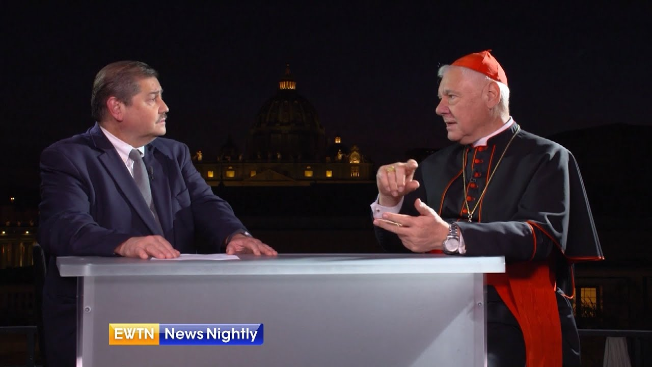 Cardinal Müller shared his thoughts on the mission of Catholic politicians | EWTN News Nightly