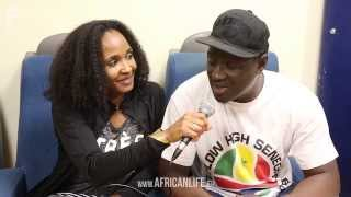 Rebellion The Recaller & Momar Gaye Interview @ Flag Flow High Senegambia 2014, Reigen