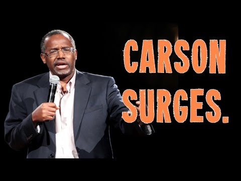 GOP Candidate Ben Carson Surges In Polls