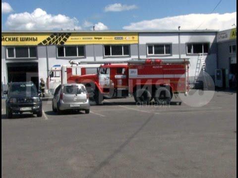 В шинном сервисе загорелся склад покрышек в Хабаровске.MestoproTV