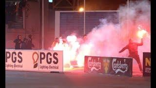 AEL Limassol - APOEL  11.12.17  //  Pyro-Greece