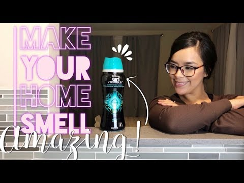 DOWNY UNSTOPPABLES || MAKE YOUR HOME SMELL AMAZING