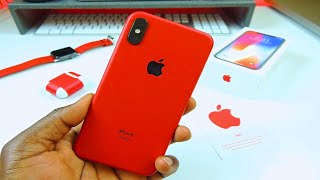 Product RED iPhone X Unboxing