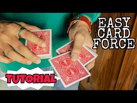 EASIEST Way To FORCE A Playing Card!!!