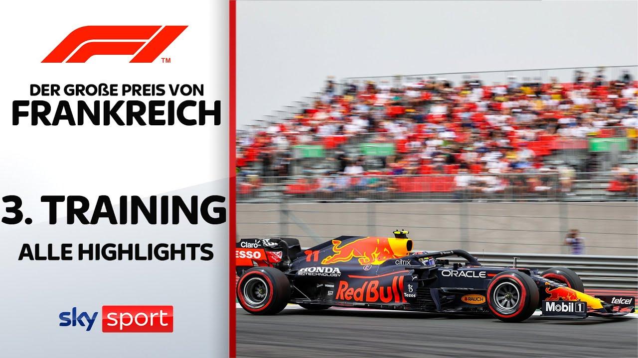 3. Freies Training - Highlights | Preis von Frankreich | Formel 1