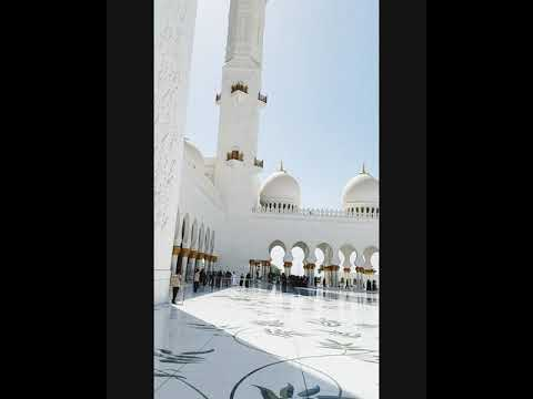 Expo 2020 Dubai: Sheikh Zayed Grand Mosque in Abu Dhabi, United Arab Emirates