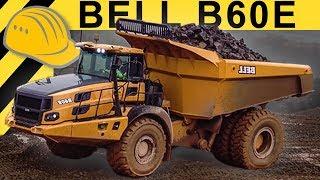 BELL B60E Dumper 4x4 ADT - Fahrbericht & Test im Steinbruch | Bauforum24 | 4K