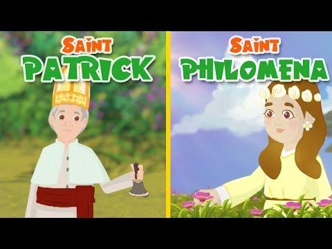 Saint Patrick + Saint Philomena | Stories Of Saints | English