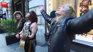 Steel Panther busking on the streets of London | Metal Hammer