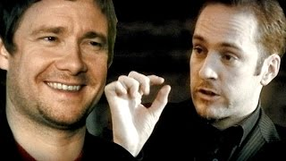 Derren Brown and Martin Freeman Experiment with New Age Crystals