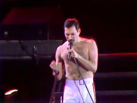 RADIO GA GA  QUEEN  AT WEMBLEY FRIDAY 11 JULY 1986