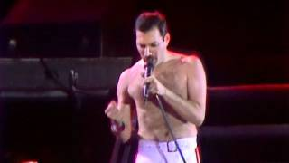 RADIO GA GA - QUEEN LIVE AT WEMBLEY FRIDAY 11 JULY 1986
