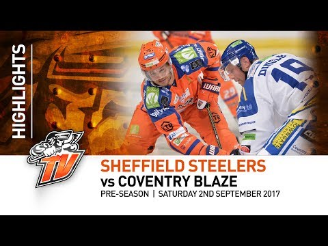 Sheffield Steelers v Coventry Blaze - Pre-season - Saturday 2nd September 2017