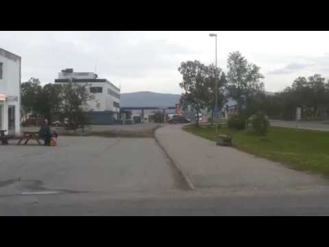 Lakselv sentrum Finnmark Northern Norway