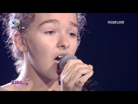 Rebeca Neacsu canta Lost me - Semifinala 5 - KIDSing 2014