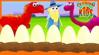 Dinosaur Eggs-travaganza Compilation | Toddler Education | Early Learning 123s Hatchimal Fun