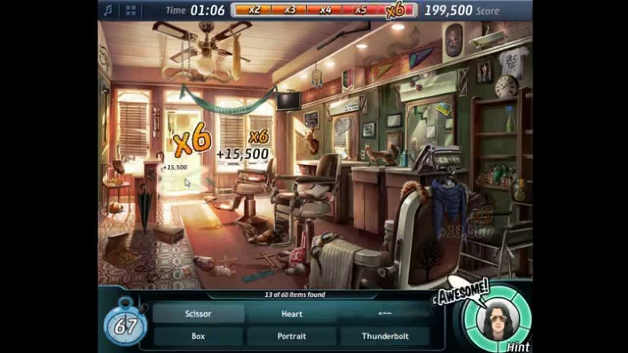 Criminal Case - Case #10 - Barber Shop Bonus (HD) - YouTube