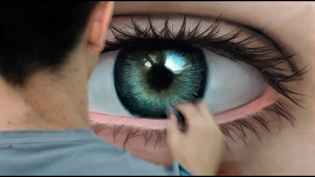 Time-Lapse Eye Drawing Realistic