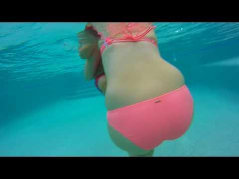 Gopro pool underwater test
