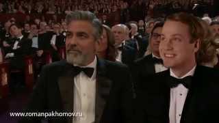 Российский актер получил награду Оскара за лучшую мужскую роль  ..............
