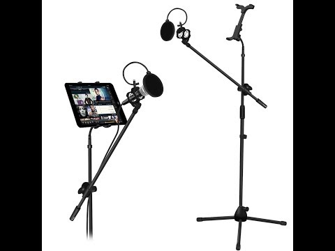 Best Microphone and Tablet Tripod Boom Stand Kit