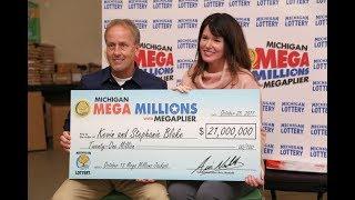 $21 Million Mega Millions Jackpot Winners Kevin and Stephanie Blake