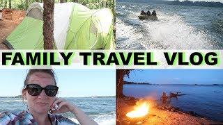 Day in the Life | Dreher Island South Carolina | Lake Murray | Camping | Yamaha SX190 | Travel Vlog