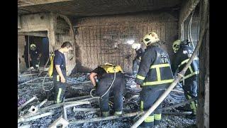 1戶7千萬!新莊24樓建案大火 燒了近24小時撲滅