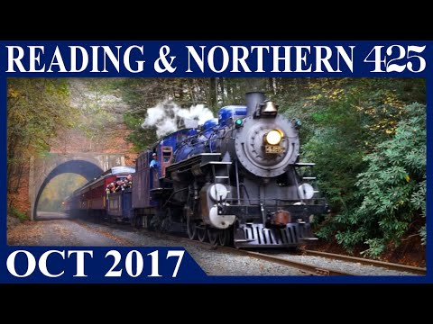 Reading & Northern 425: Fall Thunder on the Road of Anthracite