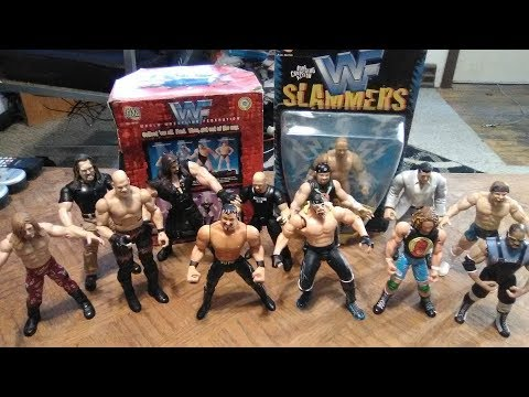 The Future Presents WWF, WCW, & ECW Late 1990's Wrestling Action Figure Lot Showcase & Review
