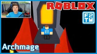 MY FIRST PLAY AND REACTION!!! Roblox Archmage