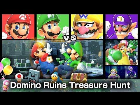 Super Mario Party Domino Ruins Treasure Hunt 20 Turns #6