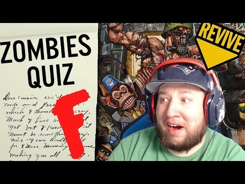 The Hardest Cod Zombies Quiz Ever Made Waw Bo4 Youtube