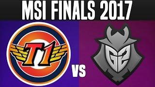SKT vs G2 - Game 4 - MSI 2017 Final - 2017 Mid Season Invitational Finals | LoL Esports