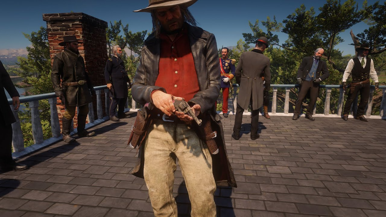 Download Red Dead Redemption 2 Bad Guys Tournament Duel Mod NPC Fights