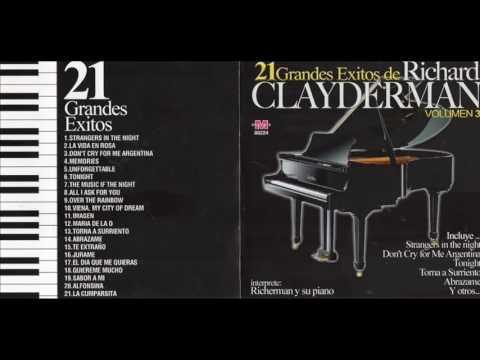 Richard Clayderman 21 Grandes Exitos Cd Entero Youtube