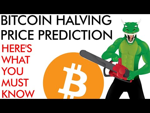 Bitcoin Halving Price Prediction – What You MUST Know