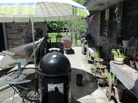 How to season, use and clean a Weber Smokey Mountain