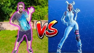 Batalha de dança FORTNITE vs INOOBCHANNEL na vida REAL!!!