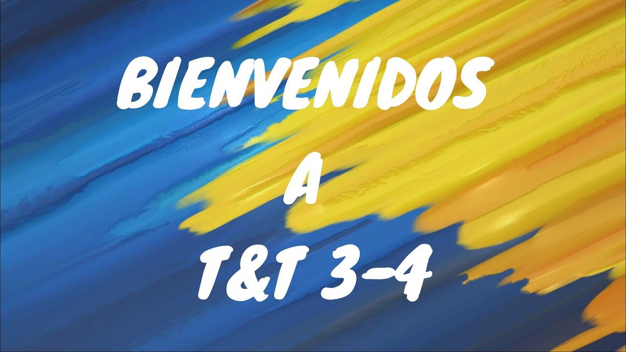 T&T 3 4 CLASE 13