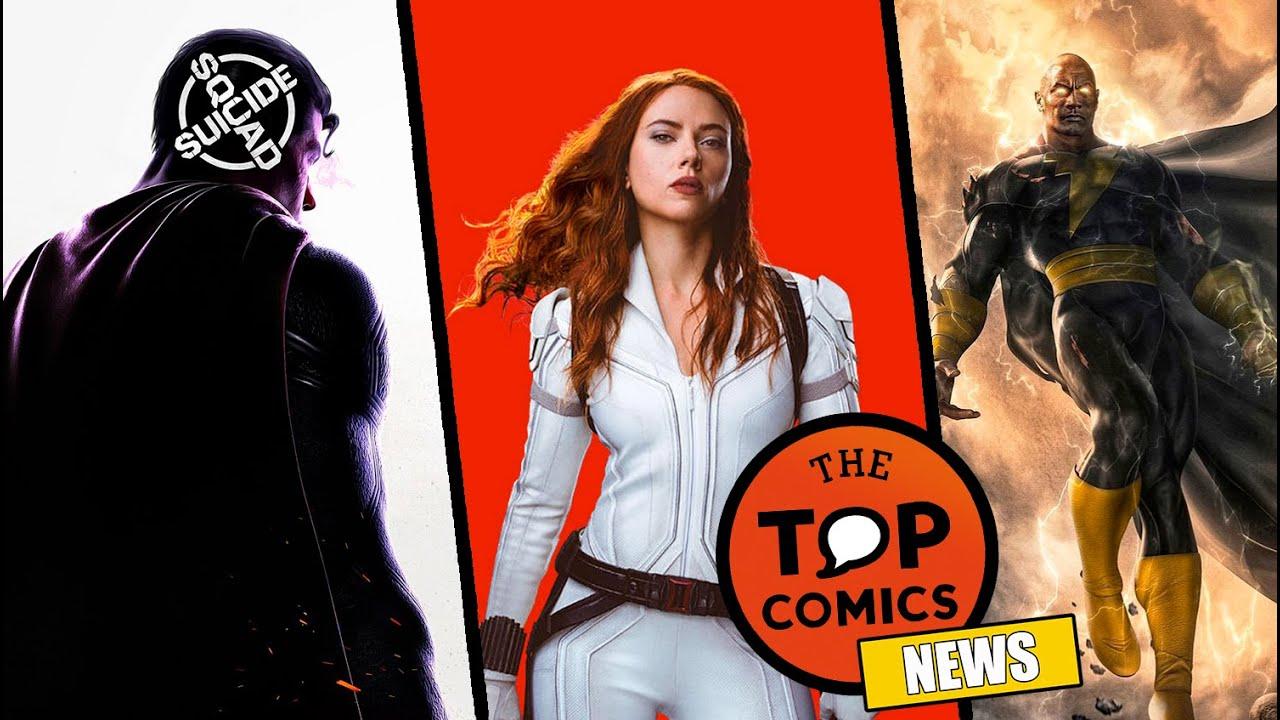 Videojuego: Suicide Squad I ¿Black Widow a Disney+ ? I Detalles DC FanDome