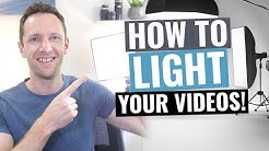 Video Lighting Tutorial (Video Lighting for Beginners!)